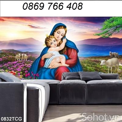Tranh Công Giáo -tranh dán tường