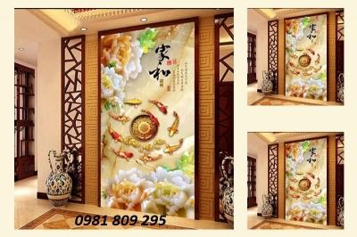 gạch 3d trang trí nhà cửa, gạch tranh 3d