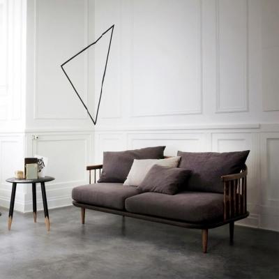 Sofa song tiện sồi Mỹ 1m6 - 2m