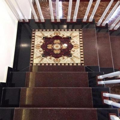 gạch thảm chiếu nghỉ cầu thang hiện đại - THVC3