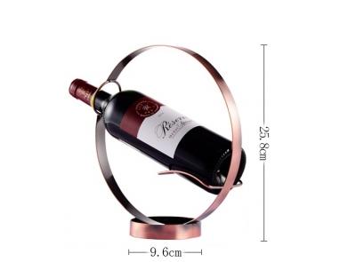 Giá Rượu Để Bàn Mạ Vàng 23k
