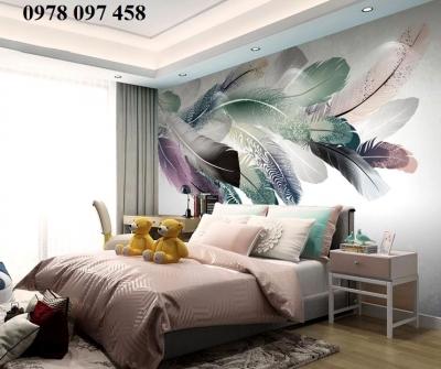 Tranh gạch phòng ngủ