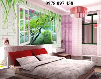 Tranh trang trí phòng ngủ- tranh gạch