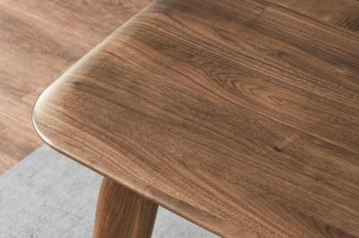 Bàn Vincent gỗ walnut 1m8
