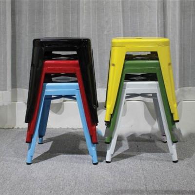 Ghế đẩu Tolix sắt sơn tĩnh điện