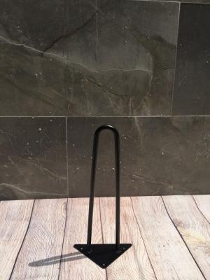 Chân bàn sắt Hairpin sơn tĩnh điên 30cm