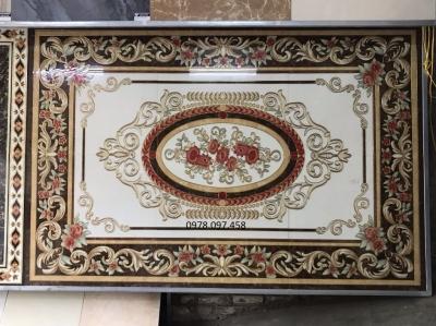 Gạch thảm trang trí phòng khách mẫu mới lạ đẹp mắt giá rẻ 0978.097.458