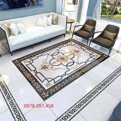 Thảm lát sàn phòng khách