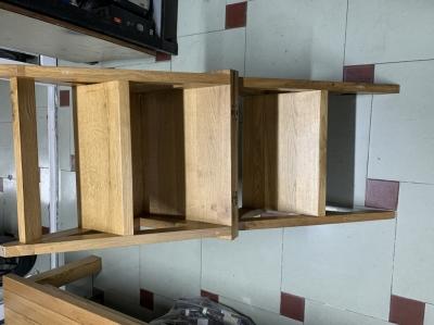 ghế gỗ sồi 2 in 1
