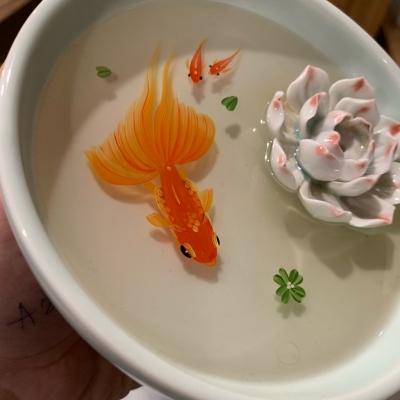 Cá 3D resin