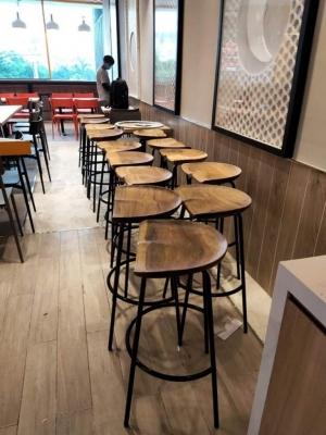 Ghế bar Phonto mặt lõm nguyên tấm
